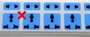 家里有这种插线板的赶紧扔了 容易触电还容易引起火灾数控车床